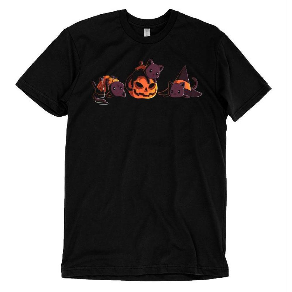 Spooky Kitties T-Shirt TeeTurtle