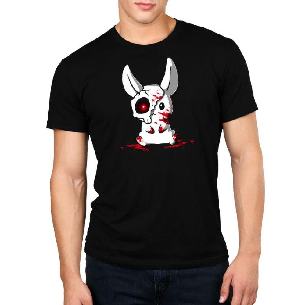 Spoopy Bunny Standard T-Shirt Model TeeTurtle