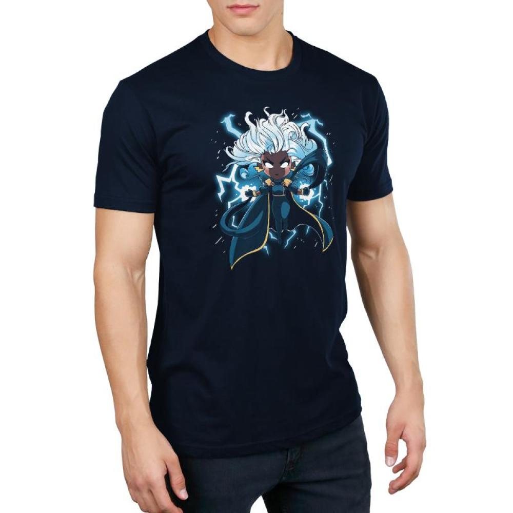Storm Men's T-Shirt Model Marvel TeeTurtle