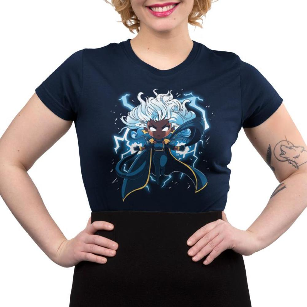 Storm Juniors T-Shirt Model Marvel TeeTurtle