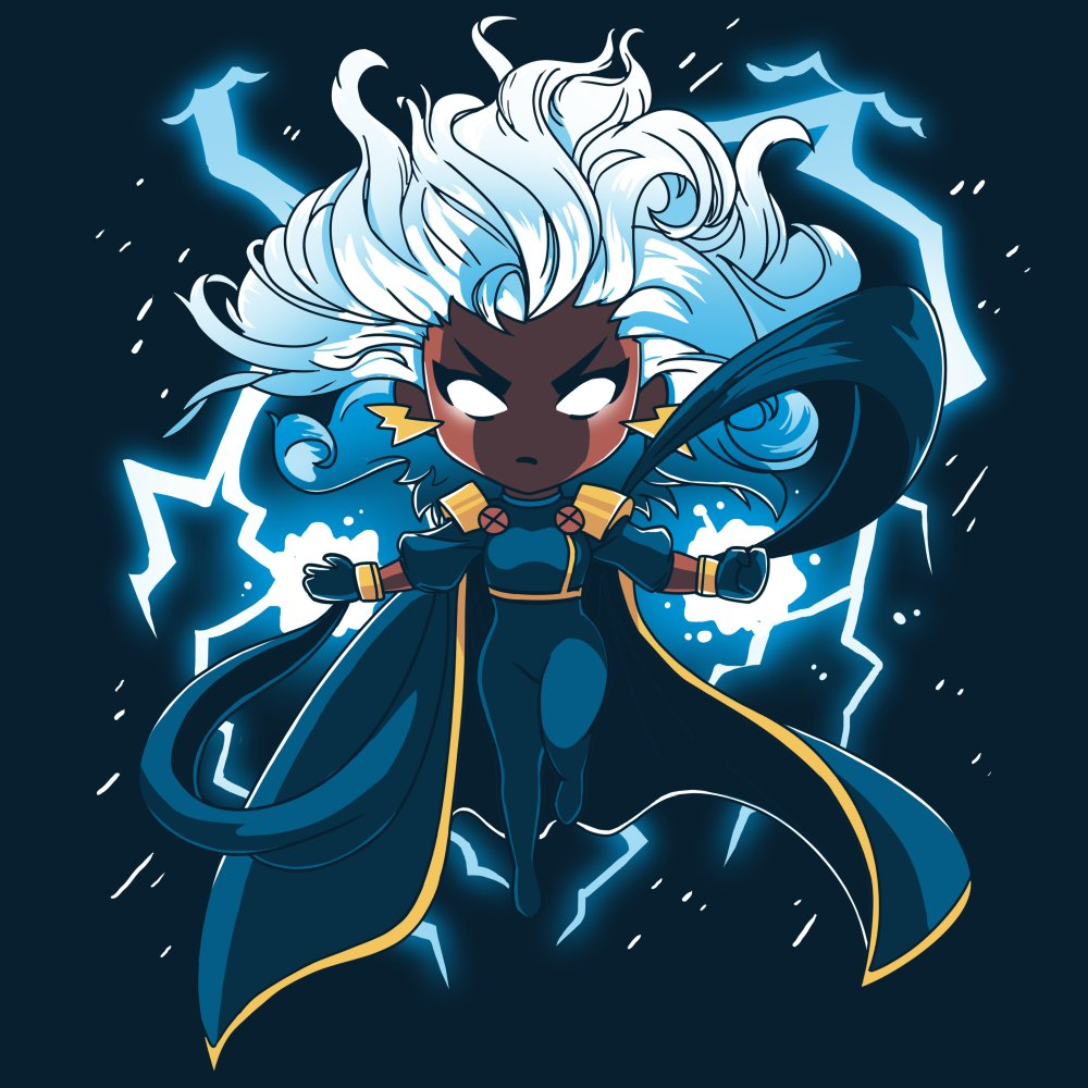 Storm T-Shirt Marvel TeeTurtle