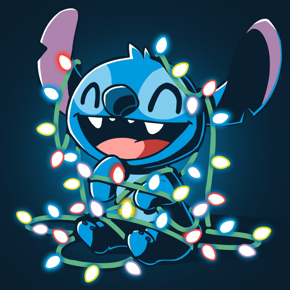 Tangled Up Stitch T-Shirt Disney TeeTurtle