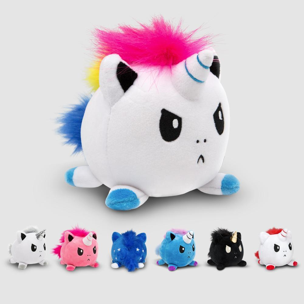 Angry Unicorn Mini Plushies TeeTurtle Minis