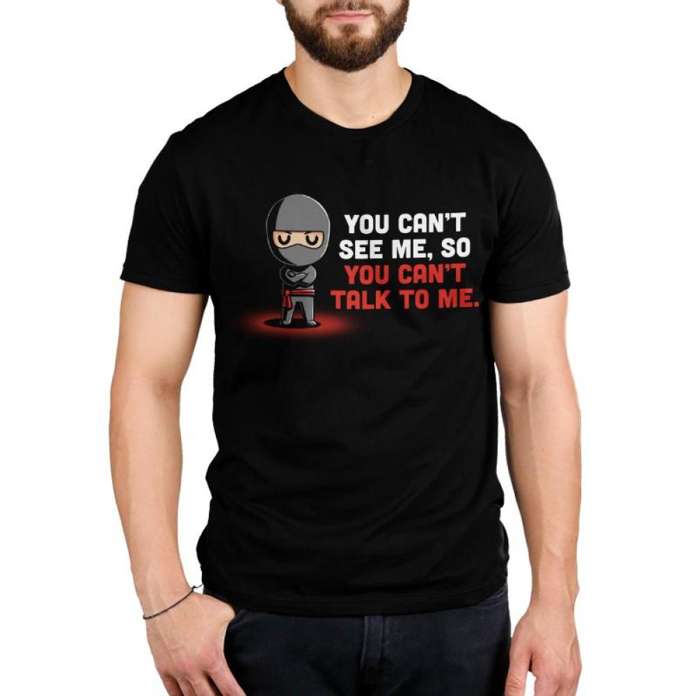 You Can't See Me. Men's T-Shirt Model TeeTurtle