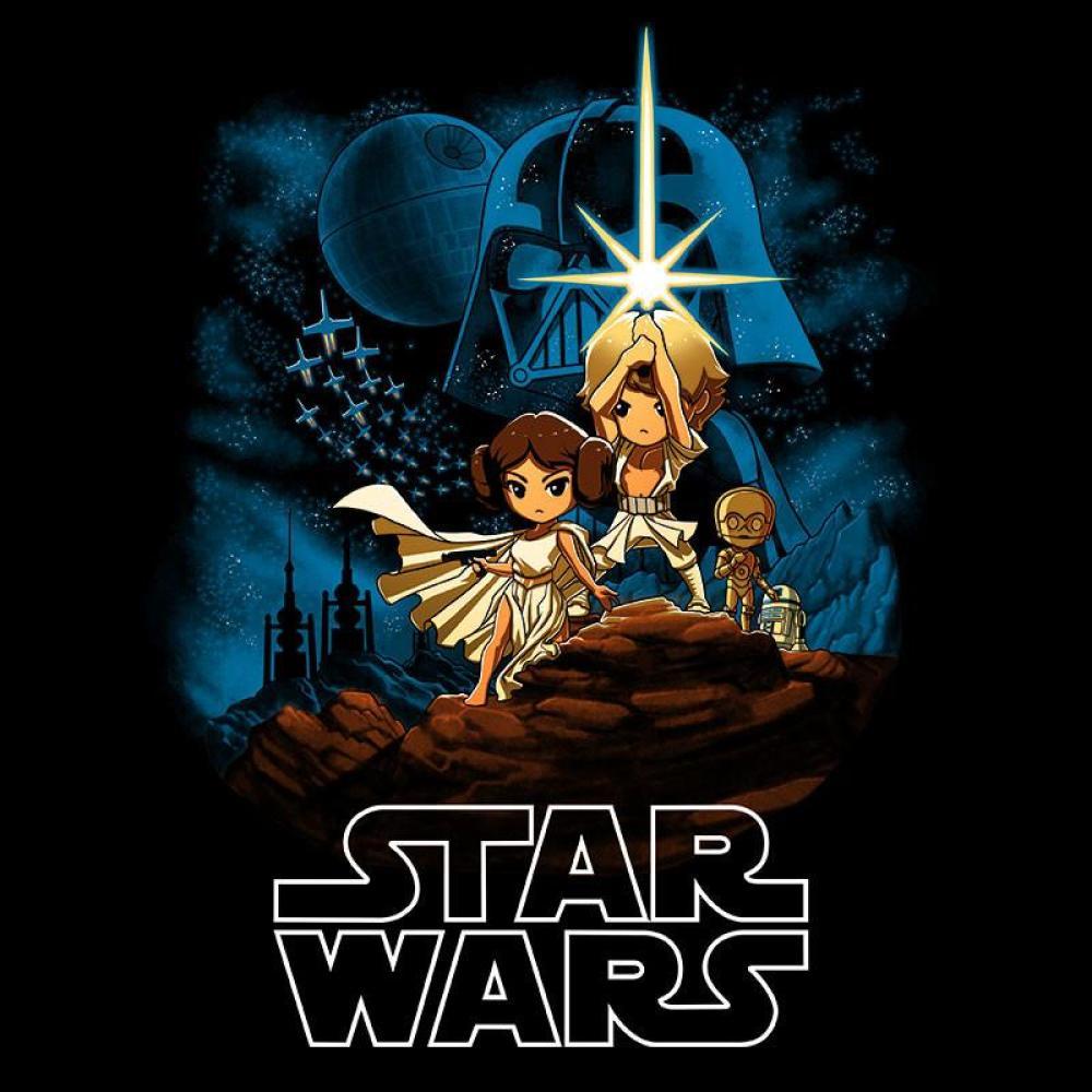 Episode IV: A New Hope T-Shirt Star Wars TeeTurtle