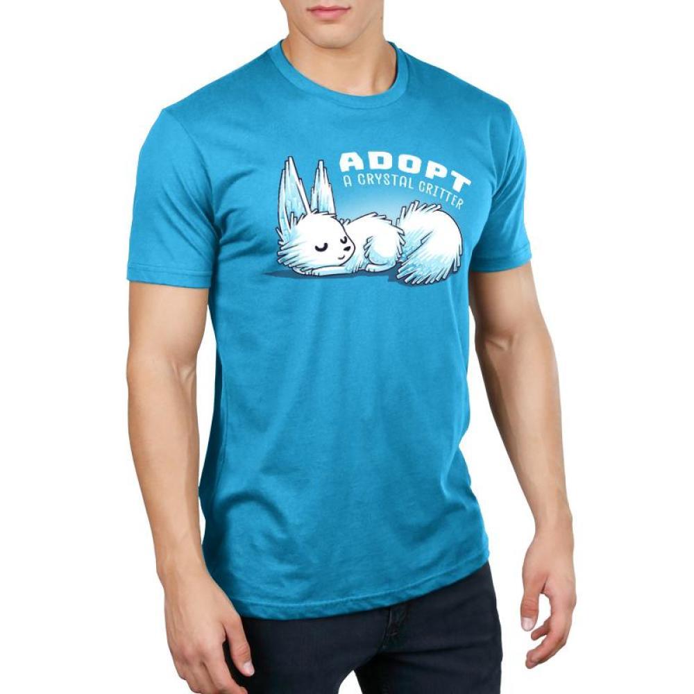 Adopt a Crystal Critter Men's T-Shirt Model Star Wars TeeTurtle