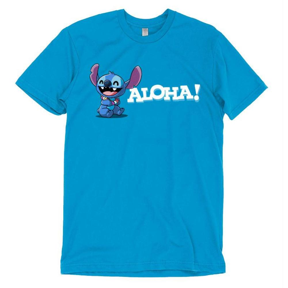 Aloha Stitch T Shirt Disney TeeTurtle