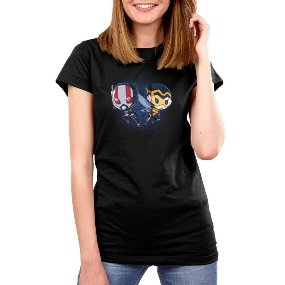 Ant-Man and The Wasp Women's T-Shirt Model Marvel TeeTurtle