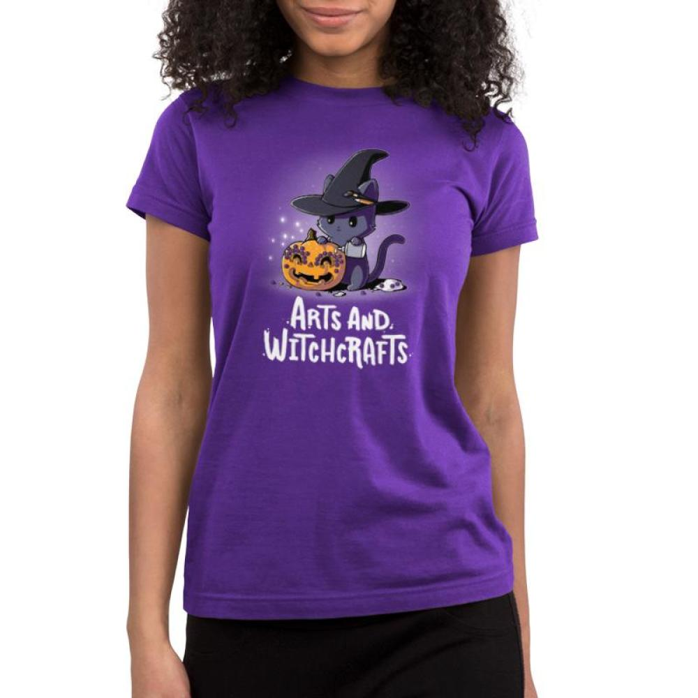 Arts and Witchcrafts Juniors T-shirt Model TeeTurtle