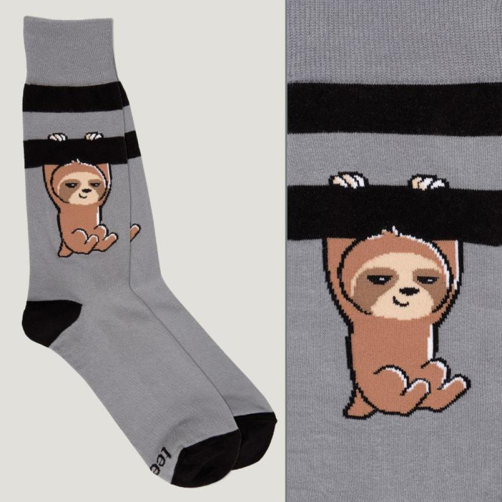 Dark Gray Athletic Socks TeeTurtle