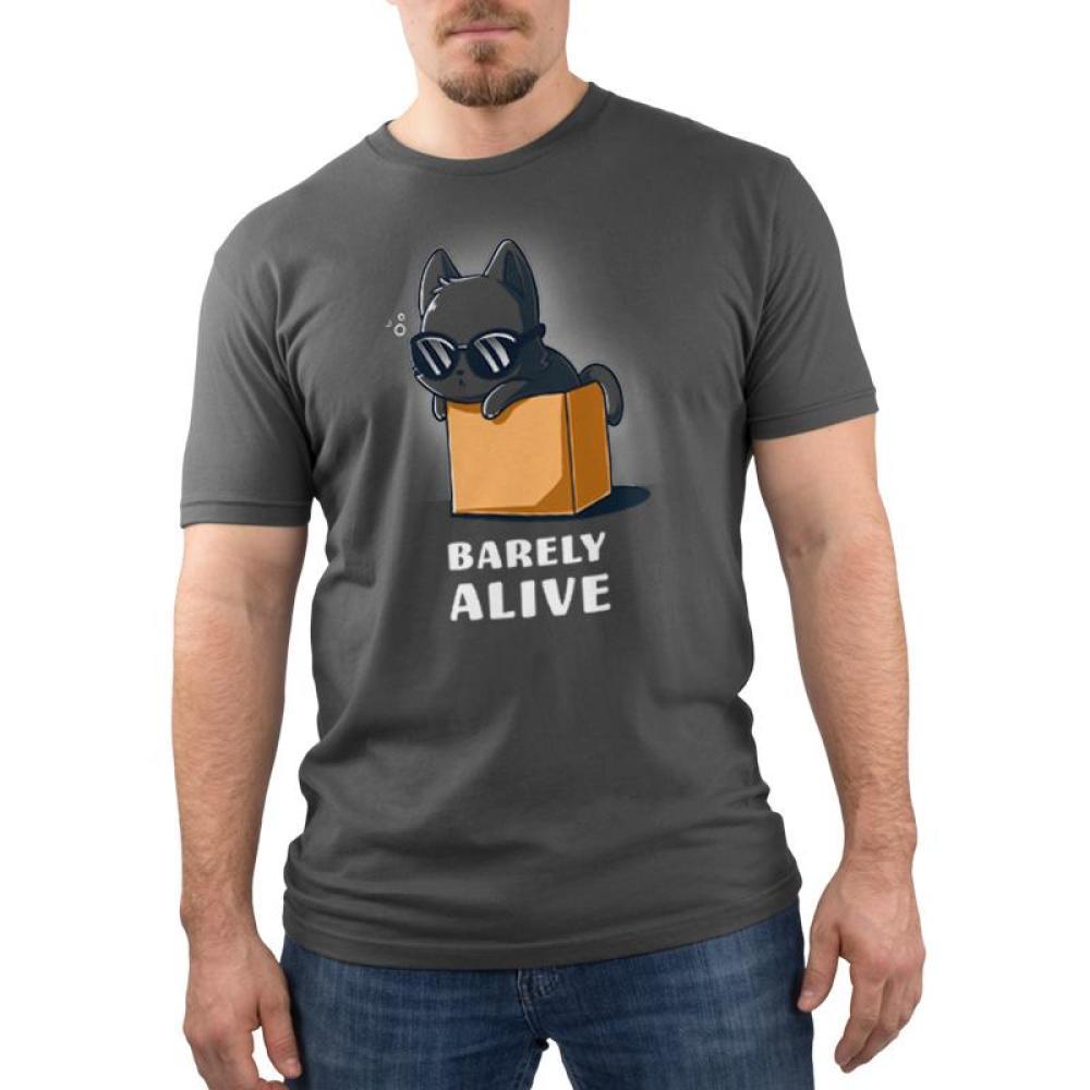 Barely Alive Men's T-Shirt Model TeeTurtle