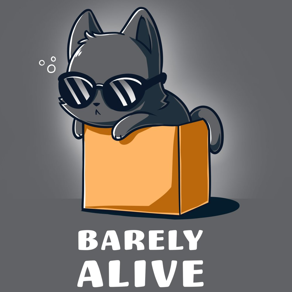 Barely Alive T-Shirt TeeTurtle