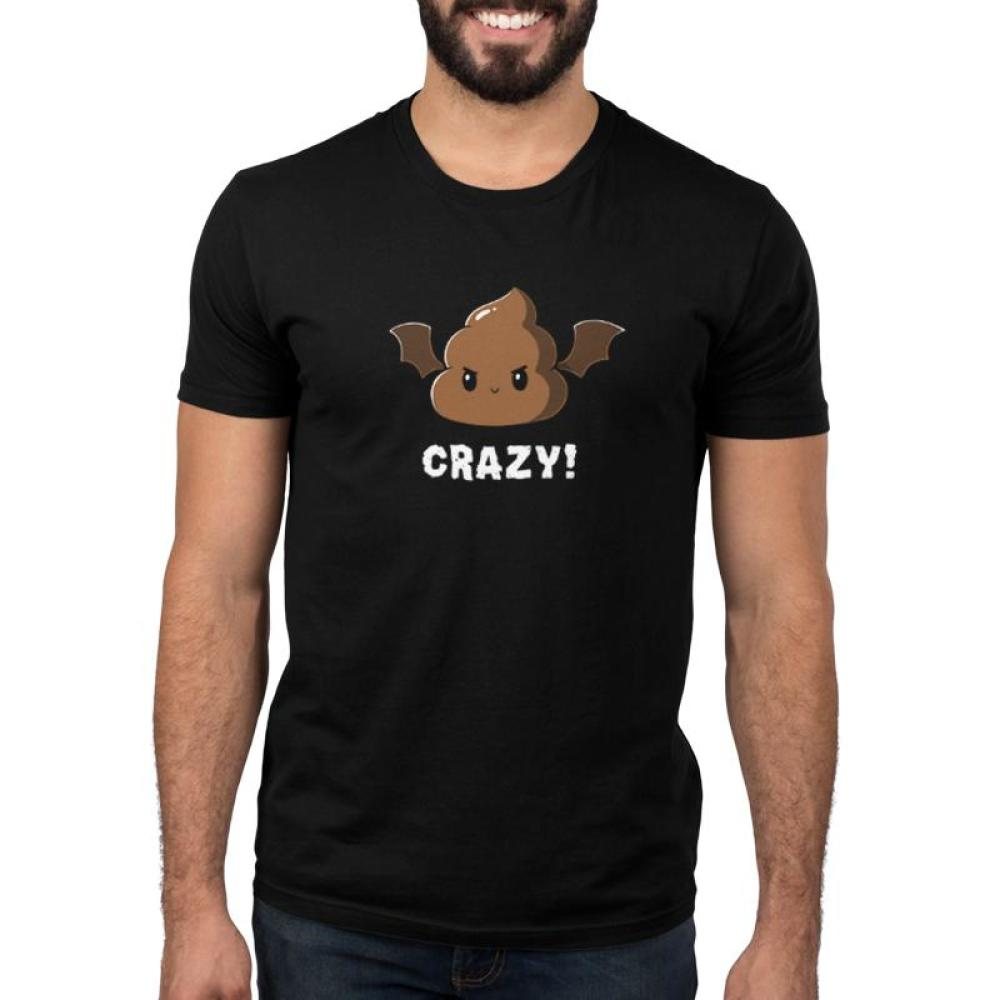 Batshit Crazy Men's T-Shirt Model TeeTurtle