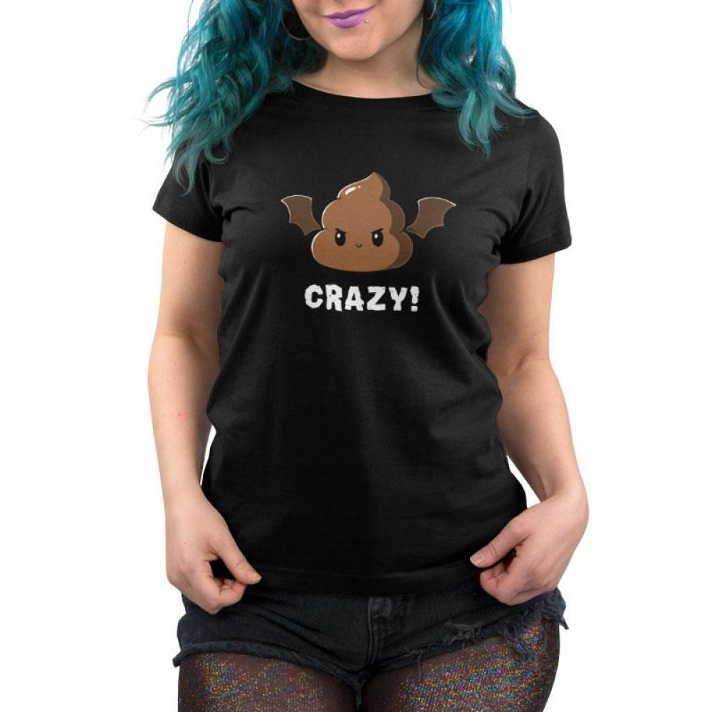 Batshit Crazy Women's T-Shirt Model TeeTurtle