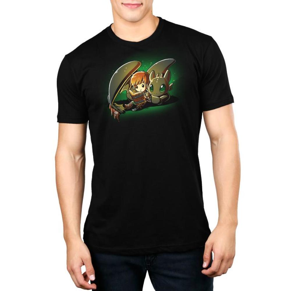 Bedtime Story Standard t-shirt Model How To Train Your Dragon TeeTurtle