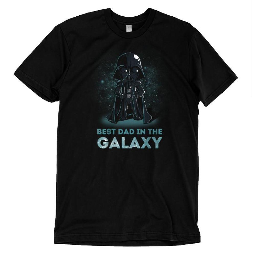 Best Dad in the Galaxy t-shirt Star Wars TeeTurtle