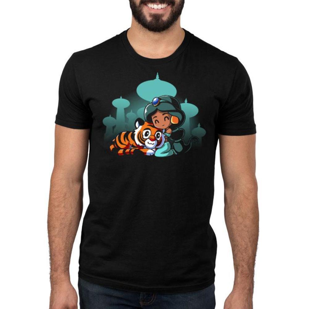 BFFs (Jasmine and Raja) Standard T-Shirt Model Disney TeeTurtle