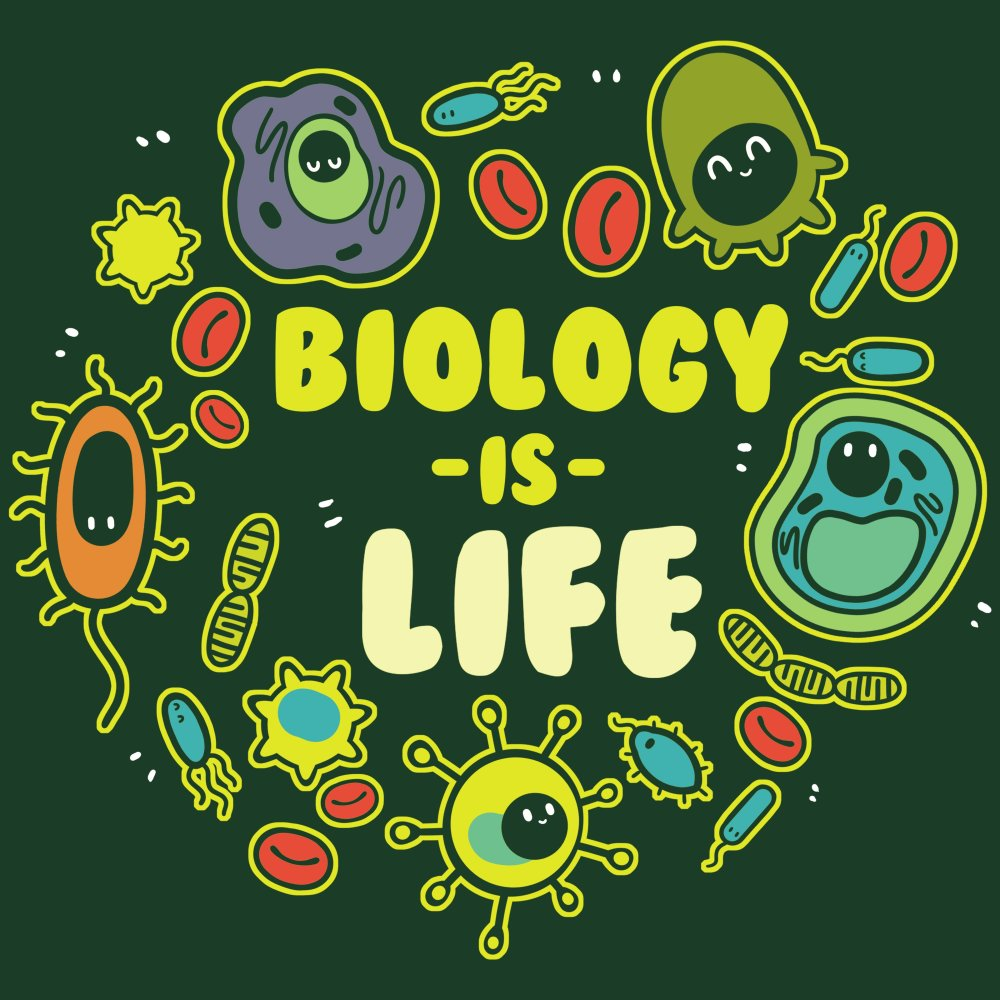 Biology is Life T-Shirt TeeTurtle