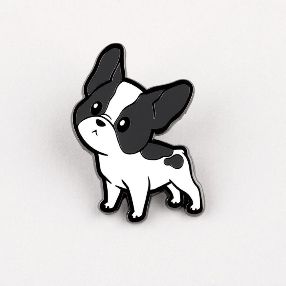 Boston Terrier Charm Pin TeeTurtle