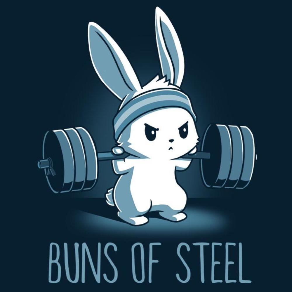 Buns of Steel T-Shirt TeeTurtle