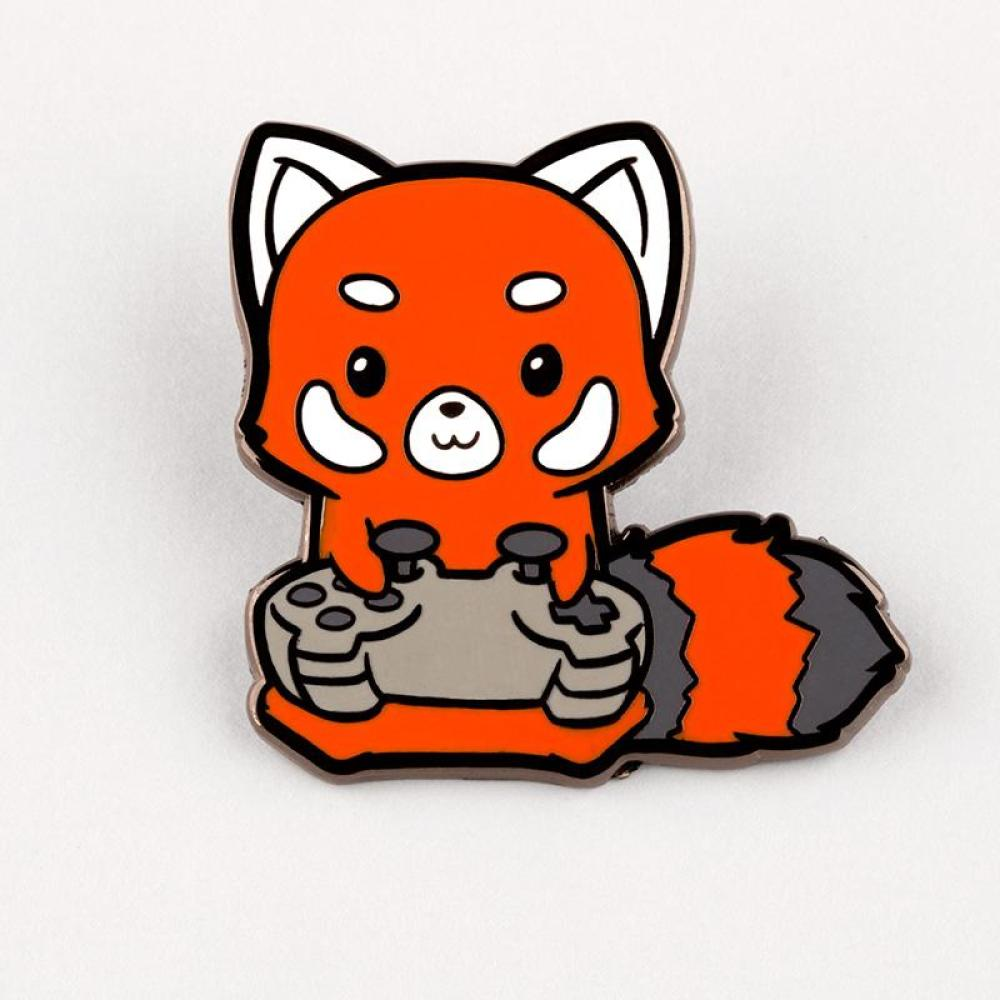 Button Masher Charm Pin TeeTurtle