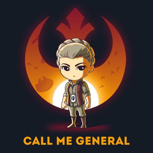 general leia organa official teeturtle tee