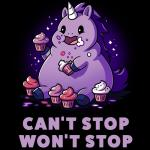 Can't Stop. Won't Stop. T-Shirt TeeTurtle