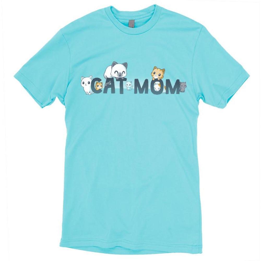 Cat Mom T-Shirt TeeTurtle