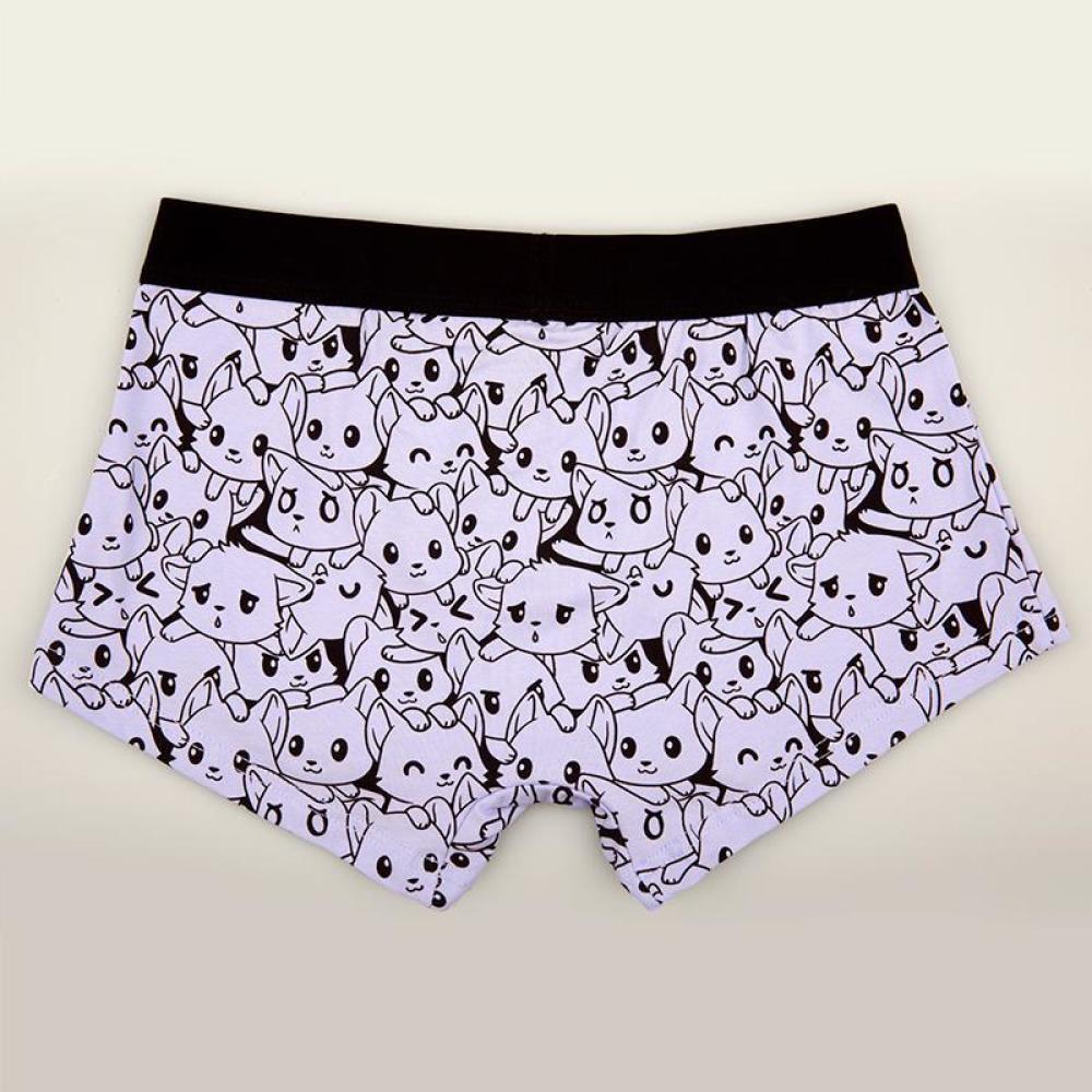 Crazy Cat Underwear TeeTurtle