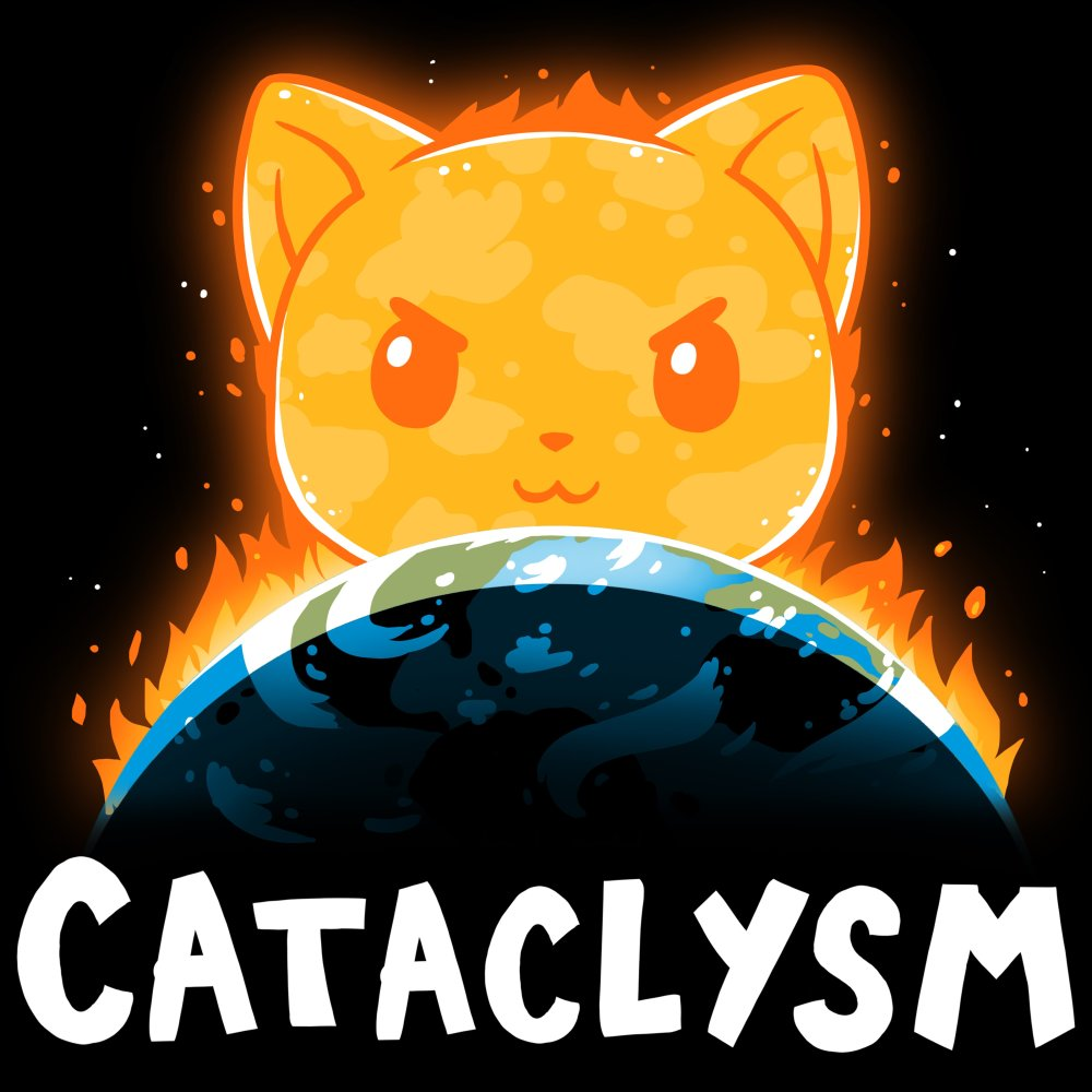 Cataclysm T-Shirt TeeTurtle