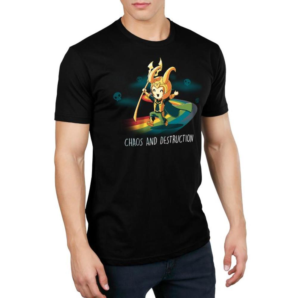 Chaos and Destruction Standard T-Shirt Model Marvel TeeTurtle