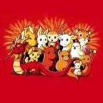 Chinese Zodiac t-shirt TeeTurtle