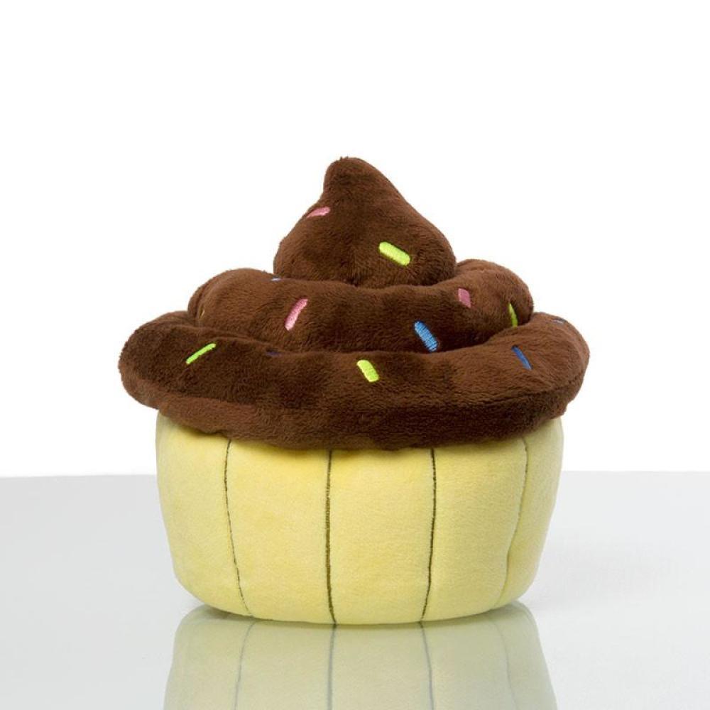 Chocolate Turtle Cupcake Massive Mini Plushie TeeTurtle