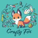 Crafty Fox T-Shirt TeeTurtle