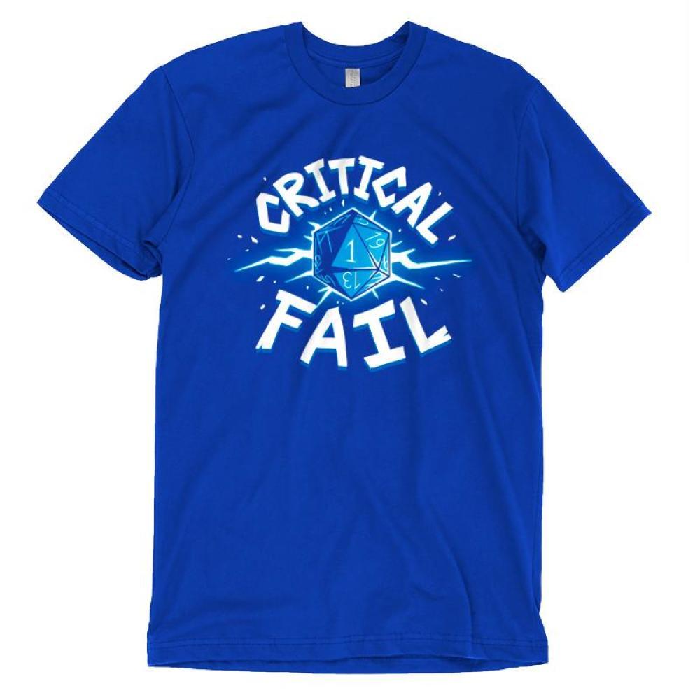 Critical Fail T-Shirt TeeTurtle