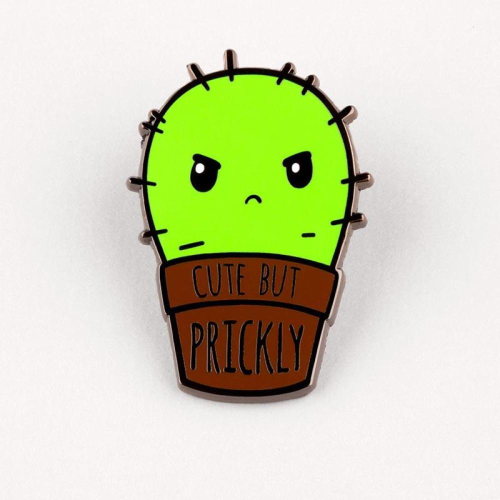 Cute But Prickly Charm Pin TeeTurtle