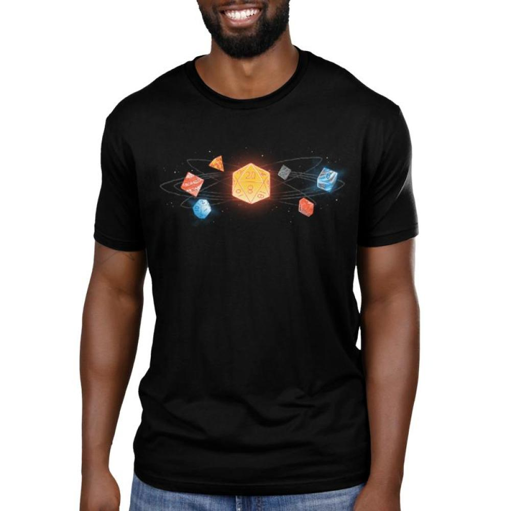D20 Men's T-Shirt Model TeeTurtle