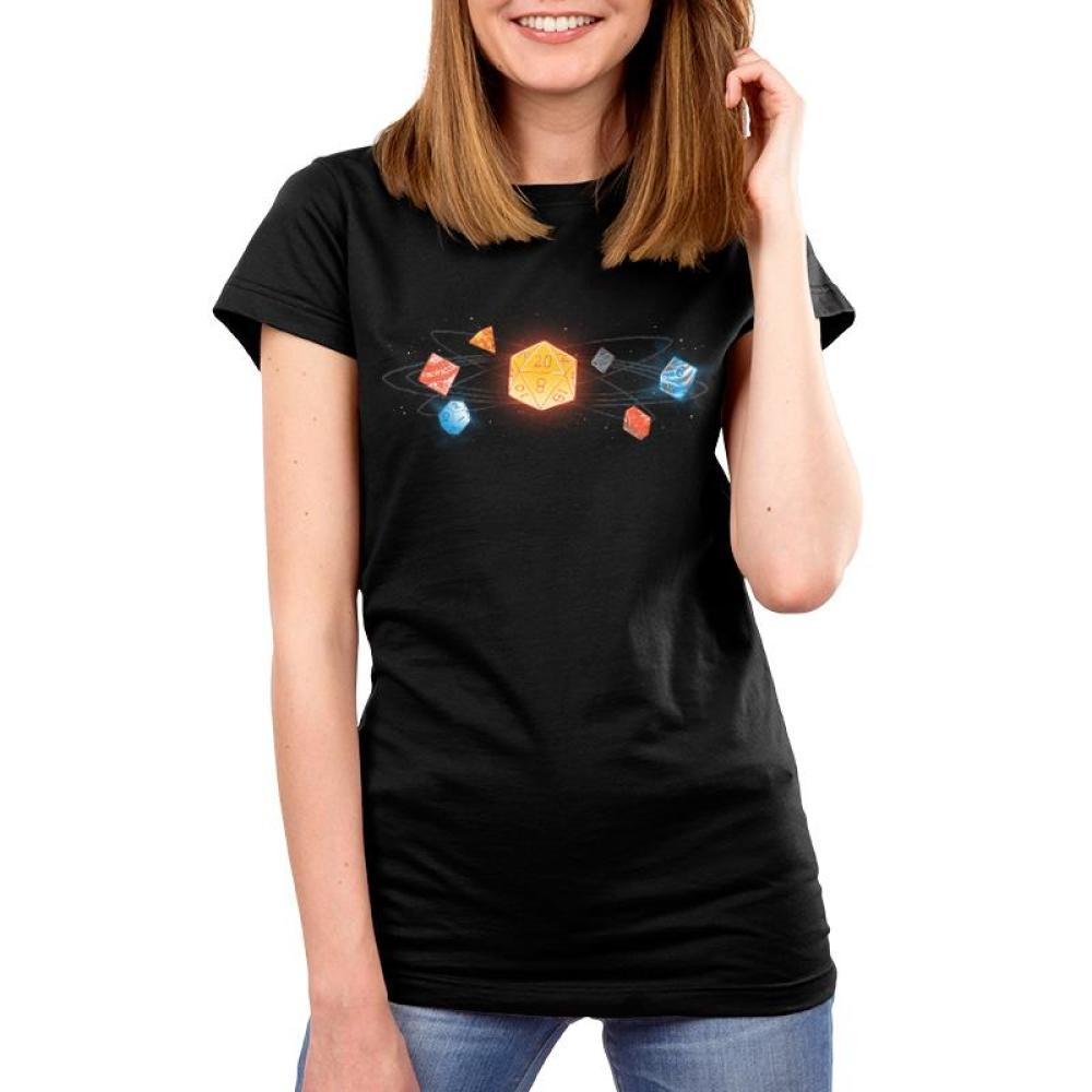 D20 Women's T-Shirt Model TeeTurtle