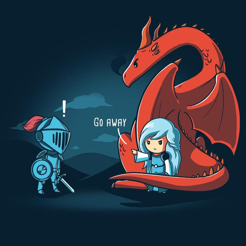 Damsel in Control T-Shirt TeeTurtle