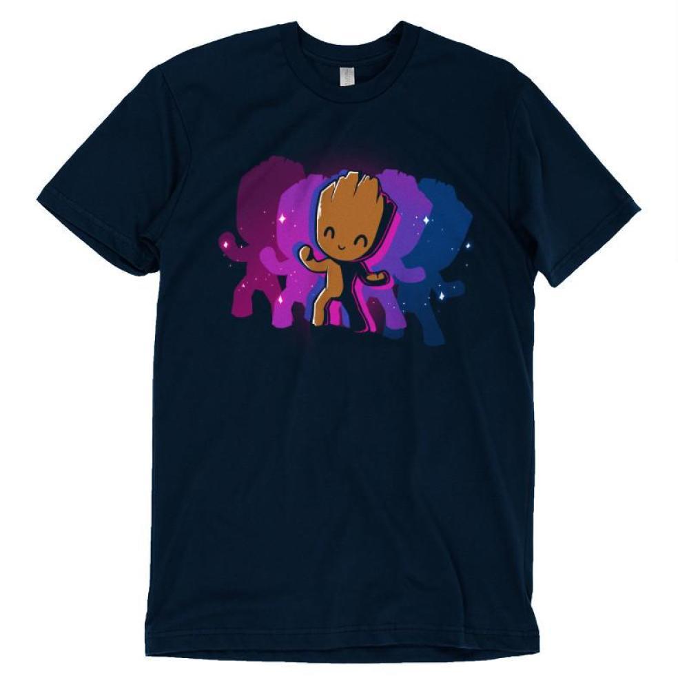 Dancing Groot T-Shirt Marvel TeeTurtle