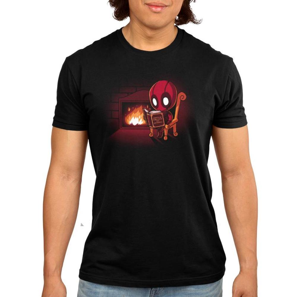 Deadpool's Secret of Success Men's T-Shirt Model Marvel TeeTurtle - Deadpool/X-Men