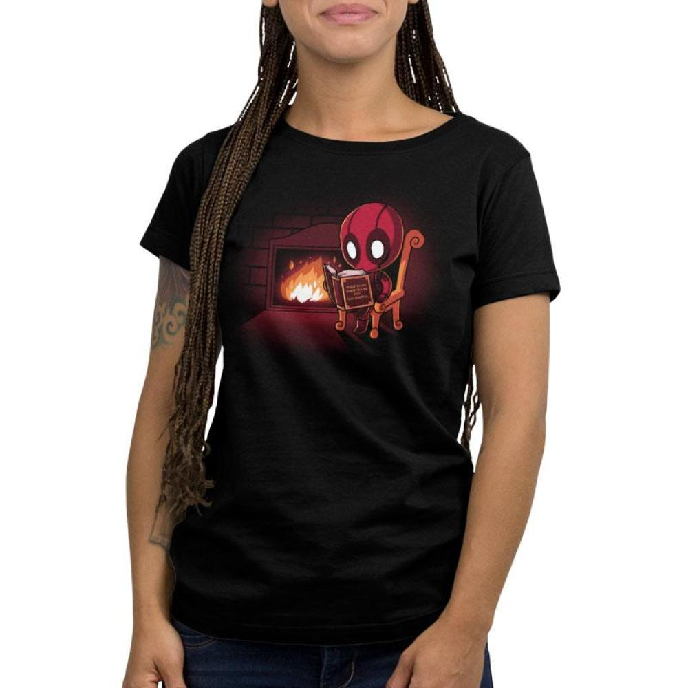 Deadpool's Secret of Success Women's T-Shirt Model Marvel - Deadpool/X-Men TeeTurtle