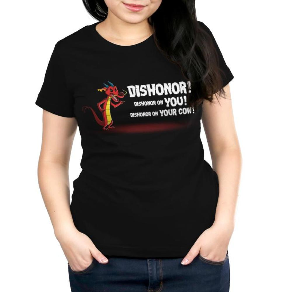 Dishonor! Women's T-Shirt Model Disney TeeTurtle