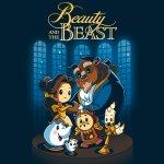 Disney Beauty and the Beast T-Shirt Disney TeeTurtle