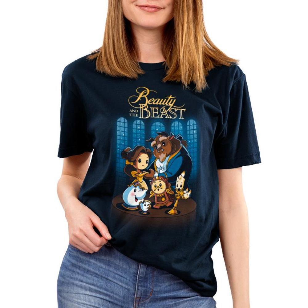 7d6f2dd0c Disney Beauty and the Beast T-Shirt | Official Disney Tee - TeeTurtle