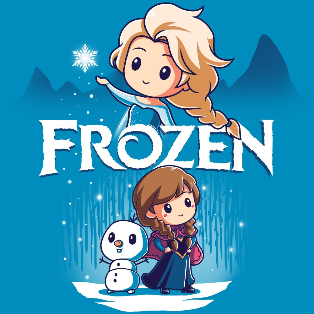 Disney Frozen T-Shirt Disney TeeTurtle