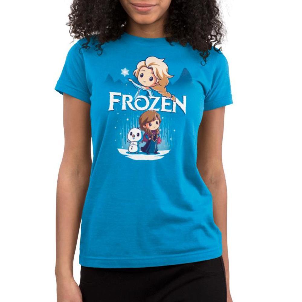 Disney Frozen Juniors T-Shirt Model Disney TeeTurtle