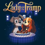 Disney Lady And The Tramp T-Shirt Disney TeeTurtle