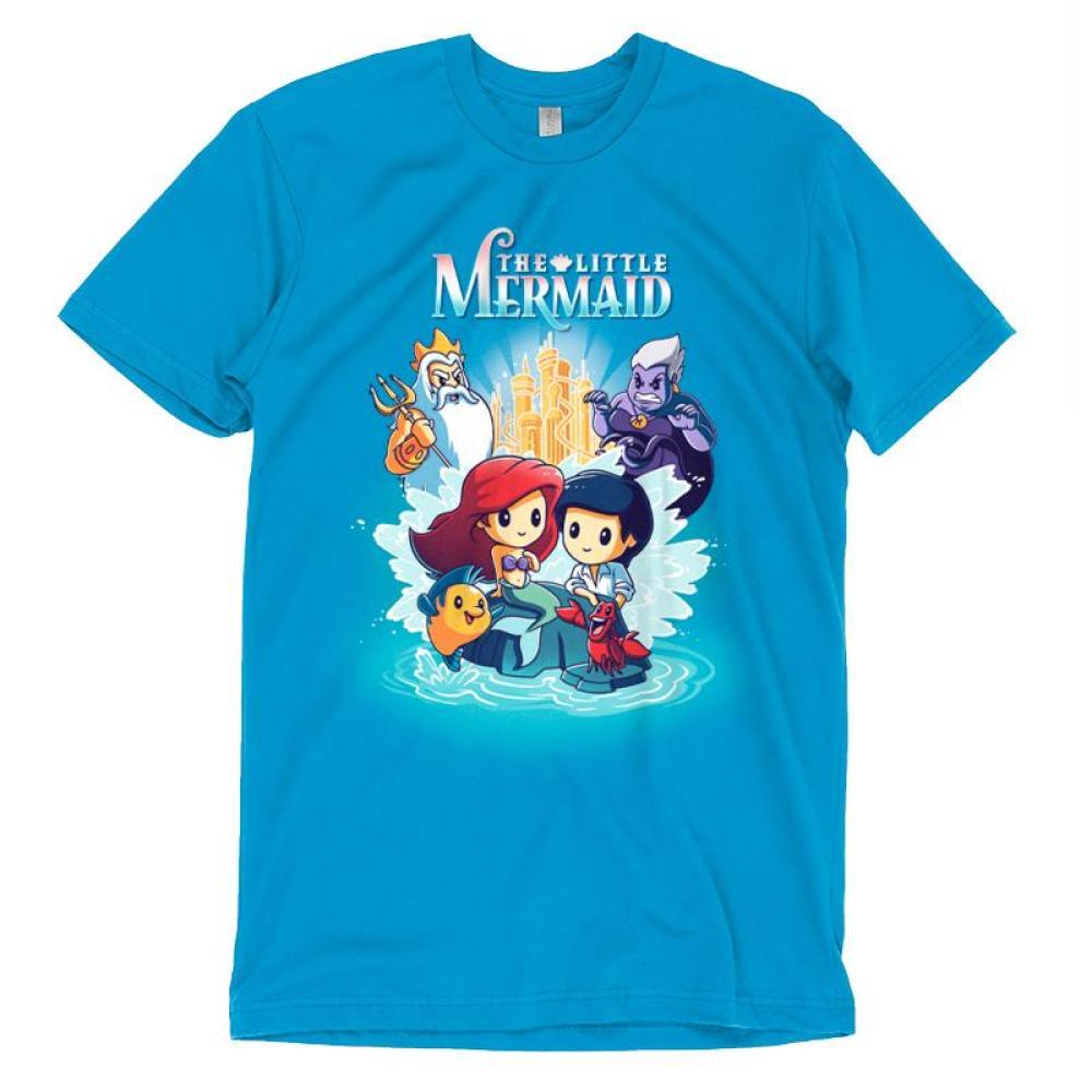 Disney The Little Mermaid T-Shirt Disney TeeTurtle