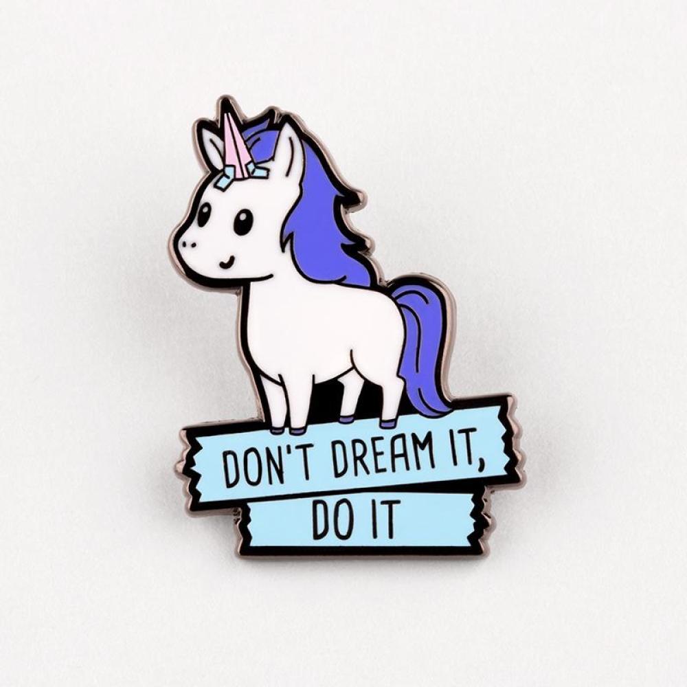 Don't Dream It, Do It Pin TeeTurtle